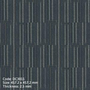 Sàn nhựa giả thảm DC3011