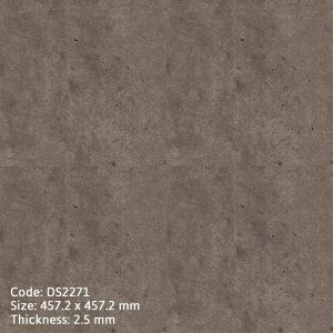 Sàn nhựa giả đá DS2271 chất lượng cao, chịu nước tuyệt đối