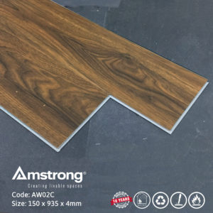 Sàn nhựa Amstrong AW02C có hèm khóa