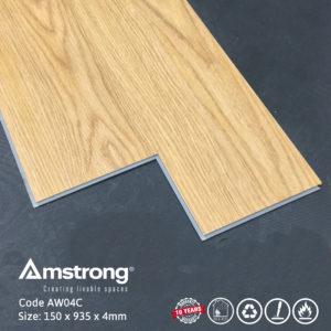 Sàn nhựa Amstrong AW04C có hèm khóa