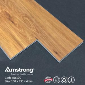 Sàn nhựa Amstrong AW10C hèm khóa tiện lợi nhanh chóng