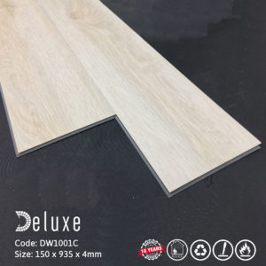 Sàn nhựa hèm khóa Deluxe Tile DW1001C