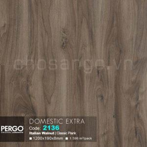Sàn gỗ Bỉ Pergo Domestic Extra 2136