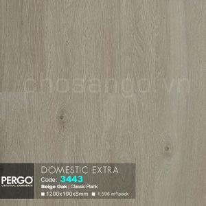 Sàn gỗ Cao cấp Pergo Domestic Extra 3443