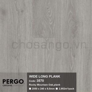 Sàn gỗ Bỉ siêu chịu nước Pergo Wide Long 3570