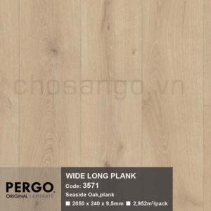 Sàn gỗ Cao cấp Pergo Wide Long 3571
