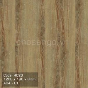 Sàn gỗ An Cường 4020 siêu chịu nước