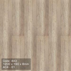 Sàn gỗ An Cường 443 chất lượng