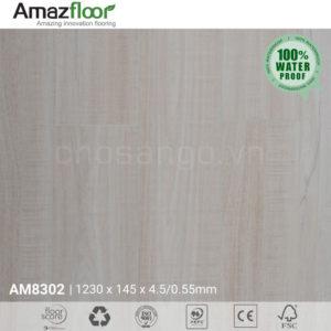 Sàn nhựa Amazfloor AM8302 hèm khóa chịu nước