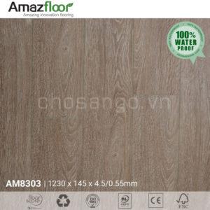 Sàn nhựa Amazfloor AM8303 hèm khóa SPC