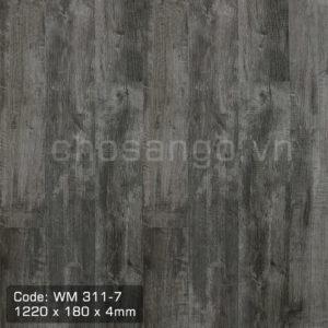 Sàn nhựa hèm khóa Winmax WM311-7 chịu nước