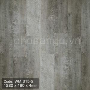 Sàn nhựa Winmax WM315-2 thi công đơn giản