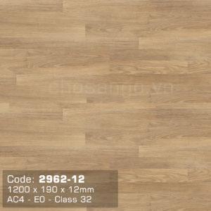 Sàn gỗ Dongwha 2962-12 dày 12mm chính hãng
