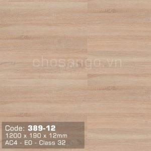 Sàn gỗ cao cấp Dongwha 389-12 dày 12mm