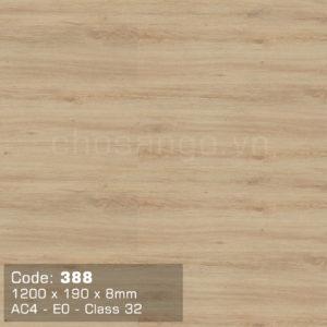 Sàn gỗ Dongwha 388 chịu nước