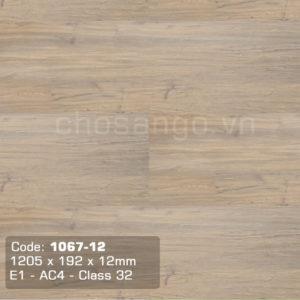 Sàn gỗ Cao cấp Thaixin 1067-12 dày 12mm
