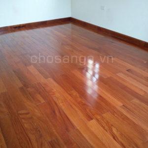 Sàn gỗ tự nhiên Căm Xe Lào 750mm