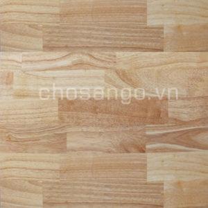 Sàn gỗ tự nhiên Cao Su 450mm chịu nước