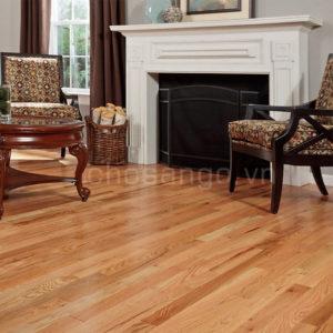 Sàn gỗ Sồi Đỏ Tự Nhiên 750mm