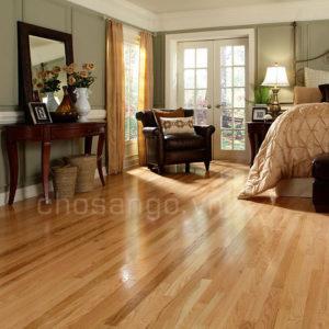 Sàn gỗ Tự Nhiên Cao Cấp Sồi Đỏ 600mm