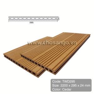Sàn gỗ nhựa TecWood TWD295 màu Cedar