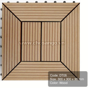 Vỉ gỗ nhựa AWood DT05 màu Wood