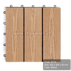Vỉ gỗ nhựa AWood DT10 màu Wood