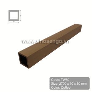 Thanh lam gỗ nhựa Tecwood TW50 màu Coffee