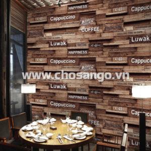 Giấy dán tường Hàn Quốc Aurora 4209-2 hình phối